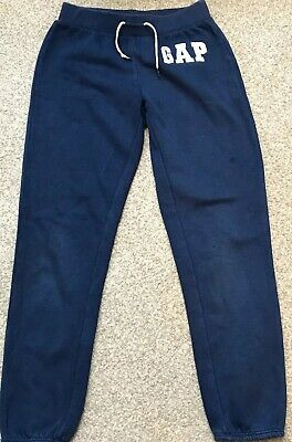 Girls Gap Tracky Bottoms Age 10-11 Color Blue