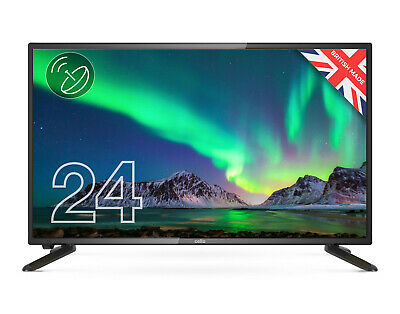 """CELLO 24"""" inch LED TV FREEVIEW HD HDMI, USB & VGA - NEW 2020 MODEL - MADE IN UK"""