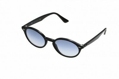 NWT Ray Ban 0RB 4315 601/19 BLACK/Blue Gradient Sunglasses Made In Italy w/case