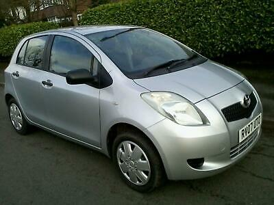 Toyota Yaris 1.0 VVT-i T2 5 Door 2007 Full MOT Low Mileage