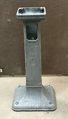 Art Deco Baldor Delta Grinder Cast Iron Pedestal Stand Base Already Sandblasted