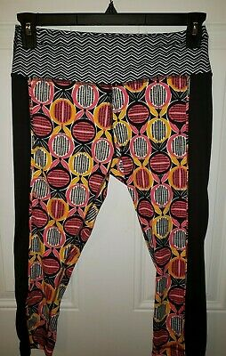 Women's ZELOS Athletic Activewear Capri Leggings Sz Medium NEW No Tag