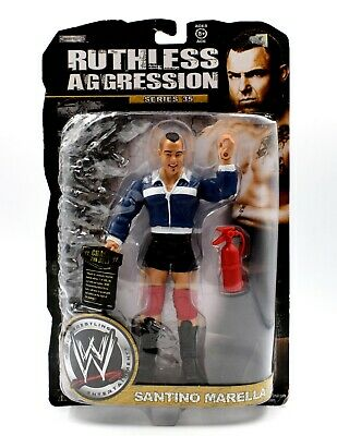 WWE Ruthless Aggression Series 35 - Santino Marella Wrestling Action Figure