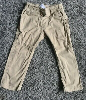 Boys Age  18  -24 Mths Skinny Jeans Chinos Beige  Fitted