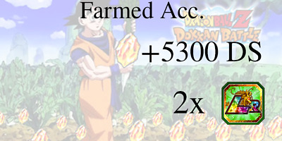 Dokkan Battle🌟2 Randoms LR + 5300 DS🌟Farmed Jap Account