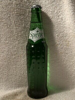FULL 10oz SPRITE ACL SODA BOTTLE COCA-COLA STATUE OF LIBERTY NATIONAL MONUMENT