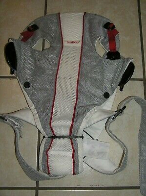 Baby Bjorn Baby Infant Carrier Mesh One Air White/Grey 8-25 lbs Unisex Sling