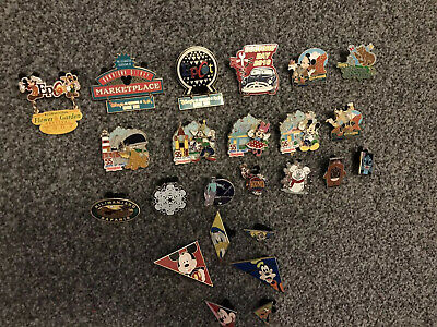 Disney Pin Trading Pins Califorinia Epcot Member exclusive x24 Joblot Job lot