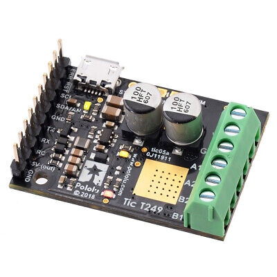 Tic T249 USB Multi-Interface Stepper Motor Controller (Soldered)