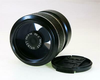 Lentar 250Mm F-5.6 Mirror Reflex Lens,T Mount, Clean Optics, Ship Worldwide