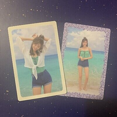 Twice Jeongyeon Official Summer Nights Set Of 2 Pre Order Photocards