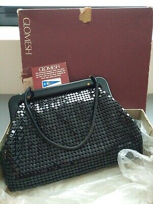 Glomesh Vintage Retro Handbag in Great Condition and in Original Box Never Used