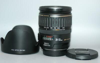 Canon EF 28-135mm f3.5-5.6 IS USM autofocus Zoom lens for EOS DSLR - Nice Mint-!