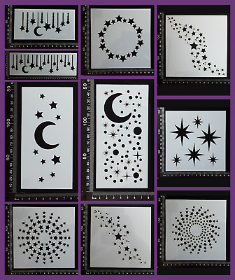 Stencils - Celestial - Collection Two