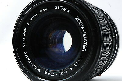 SIGMA ZOOM MASTER 35-70mm F2.8-4 for Canon NEW FD Lens SN1052096