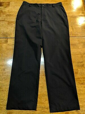Under Armour - Men's Size 36/32 Golf/Casual Pants - Black - Polyester Blend