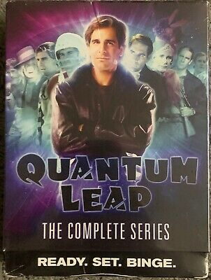 New Quantum Leap The Complete Series Dvd 18 Disc Set + Slipbox Free Shipping Buy