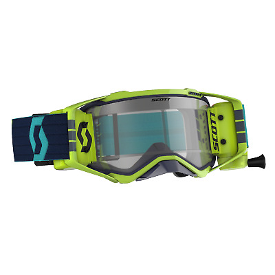 2020 SCOTT Prospect WFS roll off Motocross,Enduro, MTB Goggles Blue / Yellow