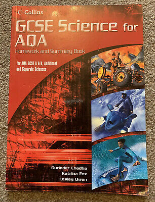 **GCSE Science for AQA - Science Summary and Homework Book**