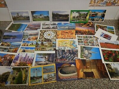 Vintage World Postcards 130 Unused Cards