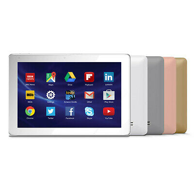 "10.1"" inch QUAD CORE ANDROID 7 TABLET TWIN CAMERA 1GB RAM 16GB - 4 COLOURS"