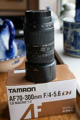 Tamron 70-300mm f4.5-5.6 Di AF for Sony.