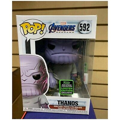 Funko Pop! Thanos Gauntlet ECCC Shared Exclusive Marvel Preorder + Protector