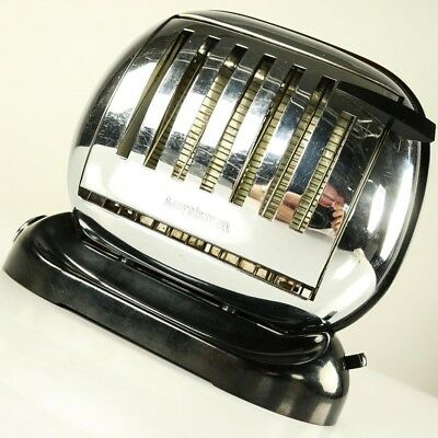 Streamline Toaster Maybaum 581 Bakelit 50er Brotröster Vintage Flip Turn Over