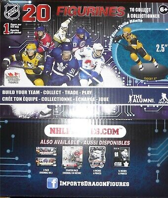 """NHL 2.5"""" Imports Dragon Series 5 Factory Sealed Case Set 20 Blind Bags 2019-20"""