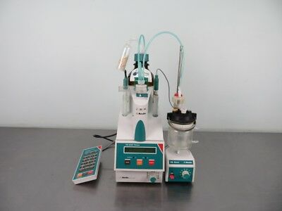 Metrohm 718 Stat Titrino Titrator with Warranty SEE VIDEO