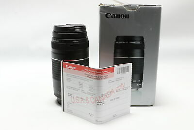 New! Canon EFS 75-300mm f/4-5.6 III, Free Shipping!