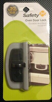 Safety 1st  Charcoal  Plastic  Oven Door Lock