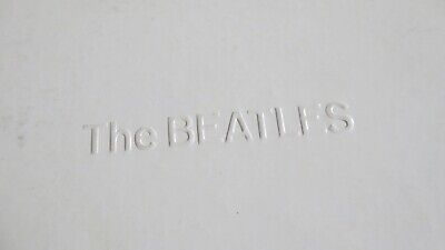 The Beatles White Album double LP with poster lyric sheet