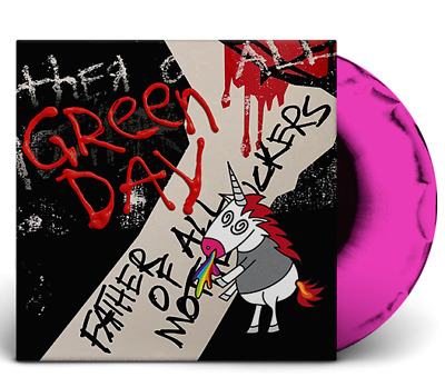 Green Day Father Of All Limited Edition pink / black Vinyl LP new Album 2020