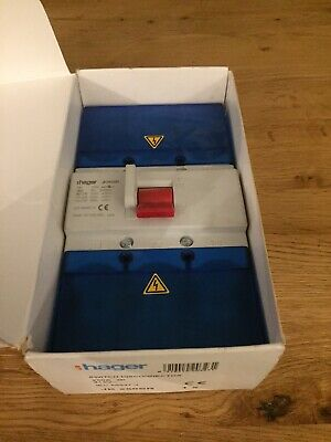 Hager 250 Amp Main Switch Disconnector 3 Phase JK250SR
