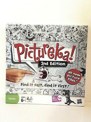 Pictureka 2nd Edition Board Game by Hasbro - Brand New In The Box. FREE SHIPPING