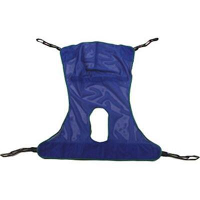 INVACARE 6V8Mzv1 1 EA R115 Reliant Full Body Sling with Commode Opening, Large,