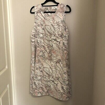 Jeans West Pink Marble Dress Size 10 Brand New