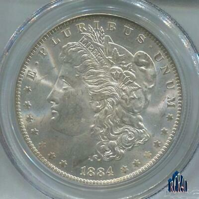 PCGS 1884-O MS-64 FROSTY MORGAN SILVER DOLLAR!   ((COMBINE SHIPPING)) No ReSeRvE