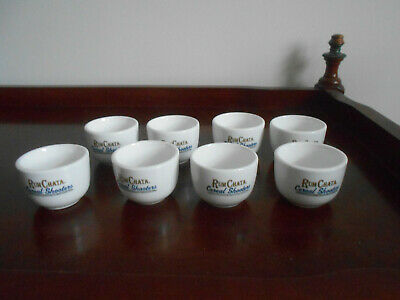 "Set of (10) Rum Chata Caribbean Rum ""Cereal Shooters""  Shot Glass EUC"