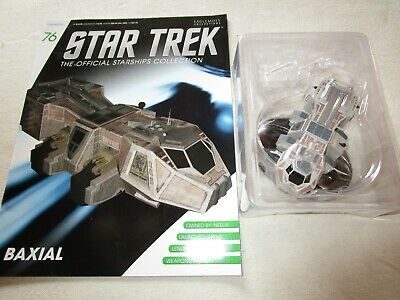 Star Trek Official Starship Collection 76 - Neelix's Ship Baxial - Free Postage