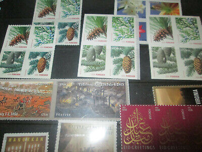 US Discount Postage  115x Forever self stick stamps MNH $63.25 Face