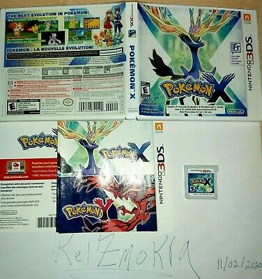 Pokemon X (3DS, 2013) for Nintendo 2DS /  New 3DS Very good condition