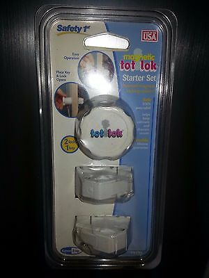 Safety 1st Magnetic Tot Locking System tot Lok [NEW]