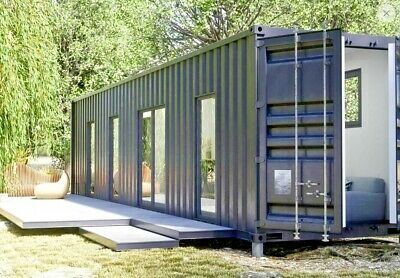 1 Bd/1 Bth 320 Sq Ft  Luxury Shipping Container Home