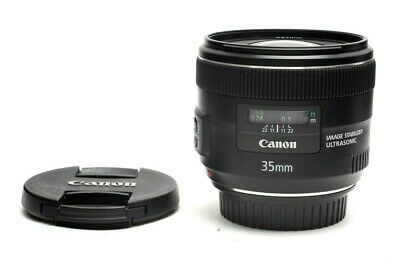 Near Mint Canon EF 35mm f2.0 IS USM Auto Focus Lens #31287
