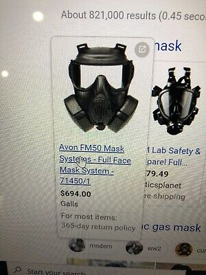 Gas Mask Filters: FM50: Expired, But Not Useless