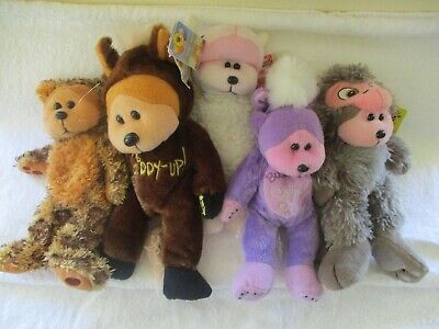 Beanie Kids Animals Lot  X 5 (With Tags)(Lot 1)