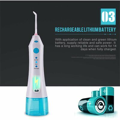U-Kiss Portable Hand Held Oral Therapy Equipments Accessories Oral Irrigator ♚H8