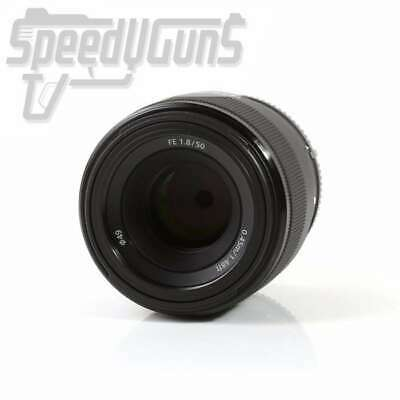 USED Sony FE 50mm f/1.8 Lens for E-Mount SEL50F18F